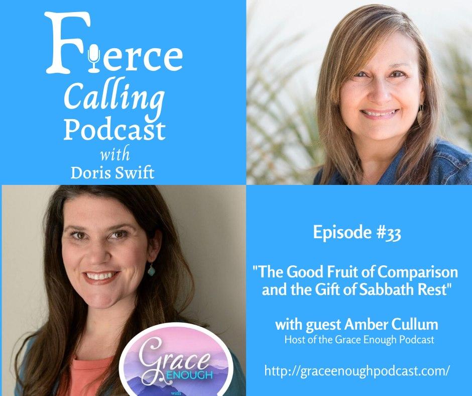 Guest Appearance: Amber Cullum, Fierce Calling Podcast