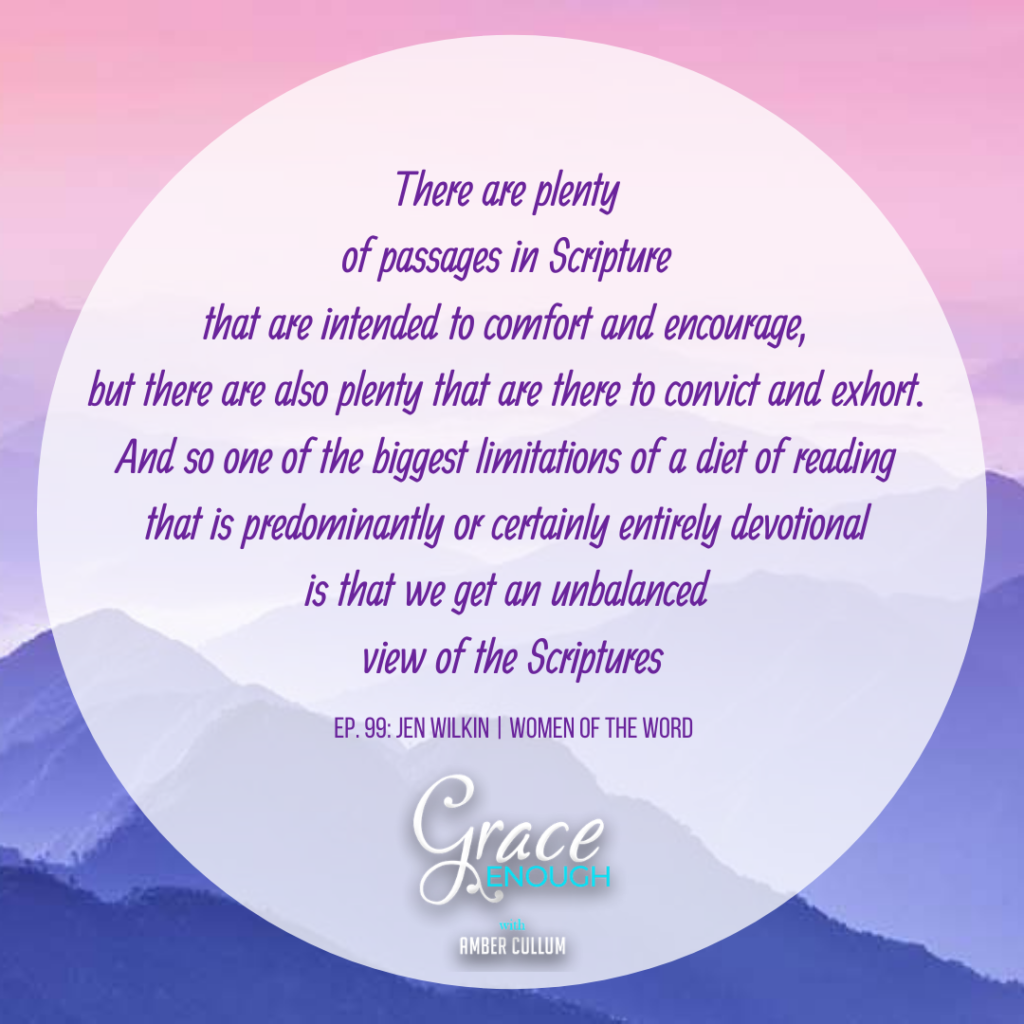 Jen Wilkin Quote on Grace Enough Podcast