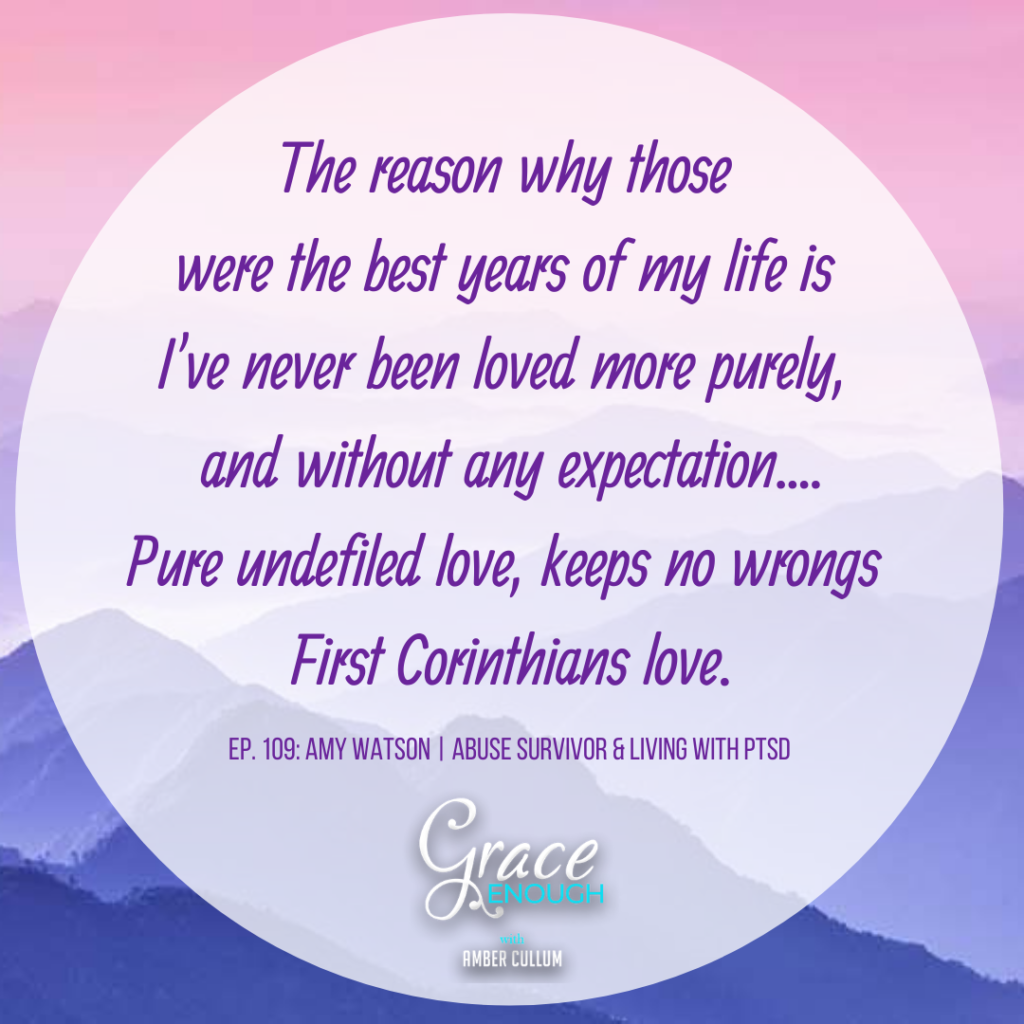 Amy Watson Quote | Abuse Survivor and Living with PTSD