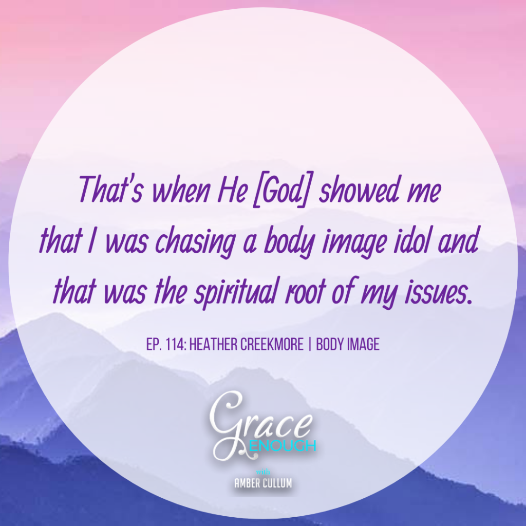 Body Image Quote: chasing the body image idol