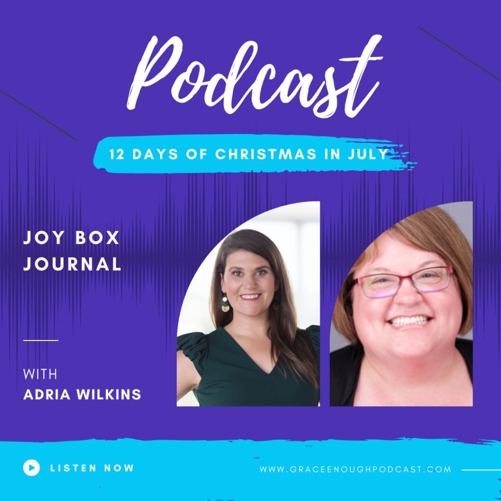 Joy Box Journal   Adria Wilkins