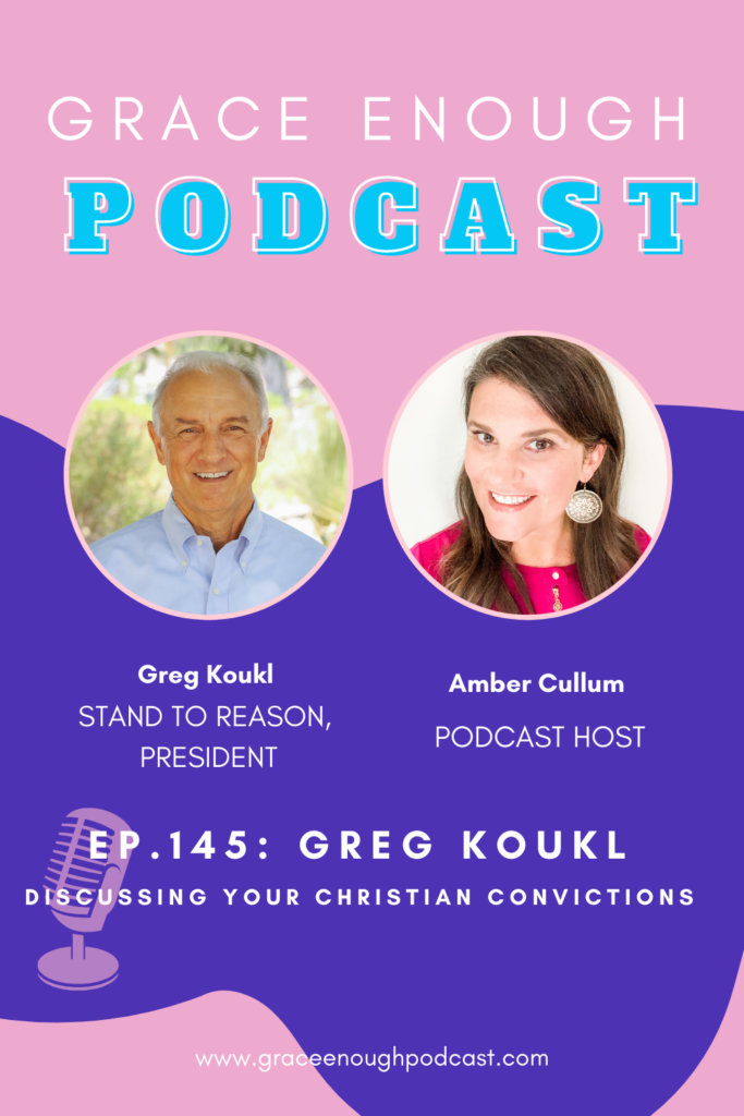 Greg Koukl   Discussing Christian Convictions