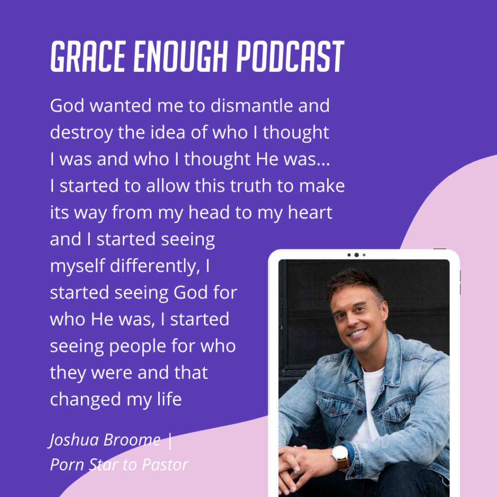 God wanted me to dismantle and destroy the idea of who I thought I was and who I thought He was... I started to allow this truth to make its way from my head to my heart and I started seeing myself differently, I started seeing God for who He was, I started seeing people for who they were and that changed my life