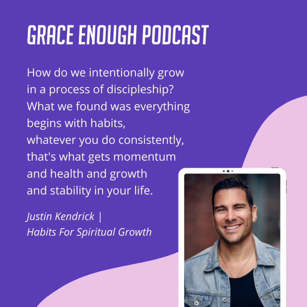 How do we intentionally grow in a process of discipleship? What we found was everything begins with habits, whatever you do consistently, that's what gets momentum and health and growth and stability in your life.